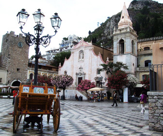 Taormina, Messina (Sicilia) in ottubre